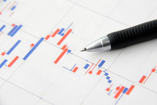 株価推移イメージ