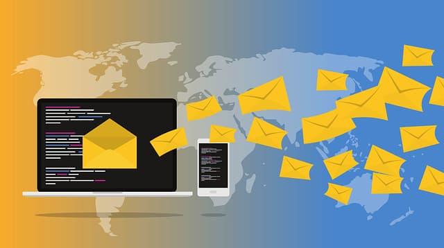 メール送信技術
